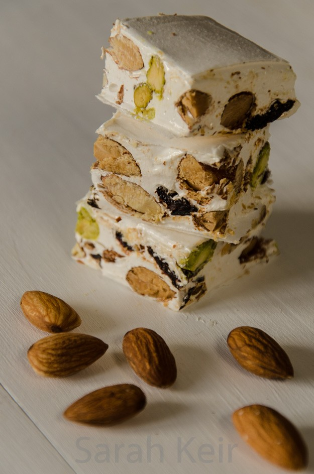 Soft nougat recipe (torrone morbido) | Nougat recipe |Torrone Italian Candy With Fruit
