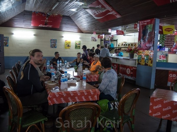 Lunch at Lae airport