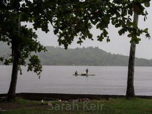 Raining in Salamaua