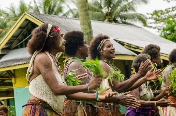 Sing-sing at Salamaua