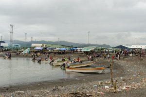 Lae small boat port