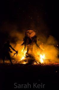 Baining fire dance