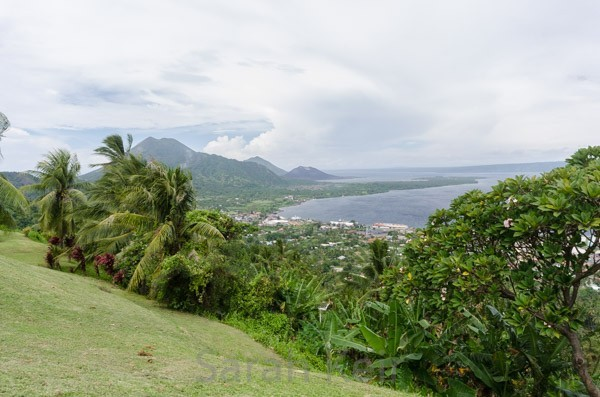 View over Rabaul