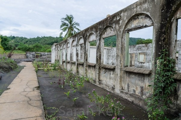 Ruins in Rabaul